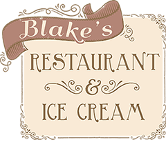 Blake's Ice Cream Logo